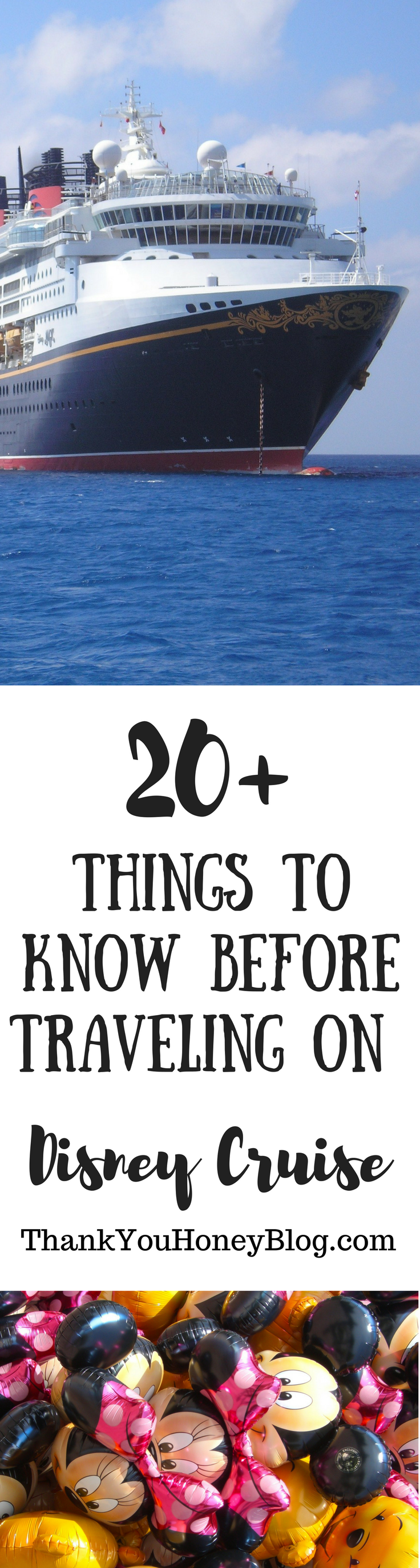 20+ Things to Know Before Traveling on Disney Cruise, The Ultimate Disney Cruise Must Knows, Packing List, Must Knows, The Ultimate Disney Cruise Must Knows, What to Pack on a Disney Cruise, Disney Cruise, Disney, Cruise, Travel, Family Travel, ThankYouHoneyBlog.com