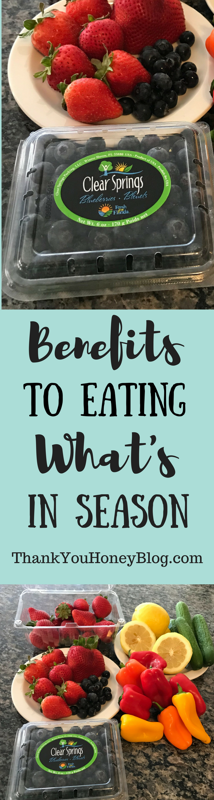 Benefits to Eating What`s in Season