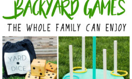 Backyard Games the Whole Family Can Enjoy